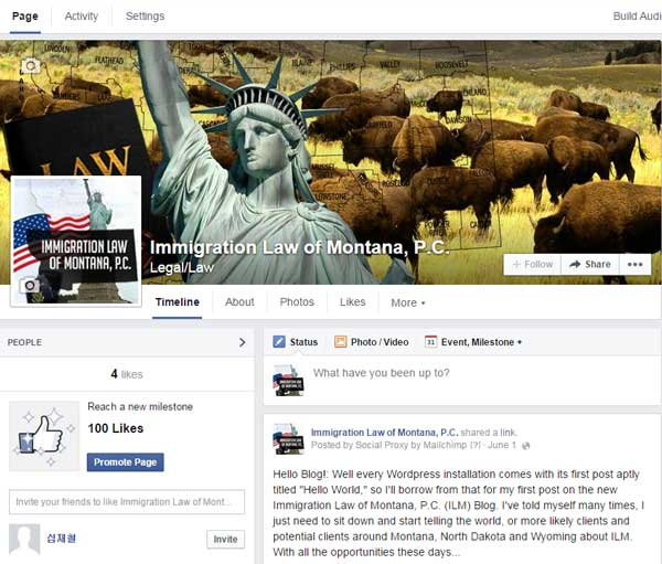 Immigration Law Of Montana Social Media | Different Types Of Us Visa