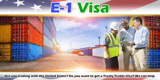 E-1 Visa Treaty Trader Montana North Dakota Wyoming | Immigration Law