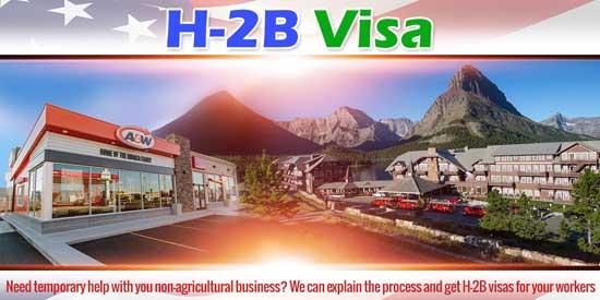 H-2B Visa Montana North Dakota Wyoming