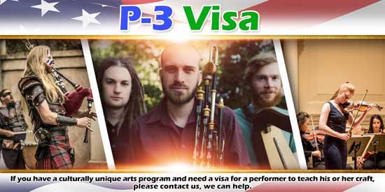 p-3 visa