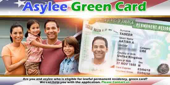 Asylee Green Card