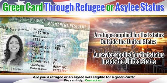 Green Card Through Refugee or Asylee Status
